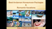 Best Andaman Honeymoon Packages & Romantic Vacations