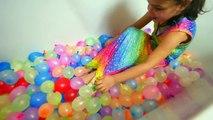 Activités des ballons couleur la famille bats toi pour amusement amusement enfants en plein air jouets eau Ryan toysrev