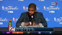 In postgame interview, Kyrie Irving admits Game 3 loss hurts | Cavs Warriors | NBA Finals
