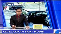 Pecah Ban, Minibus Tabrak Minibus dan Sepeda Motor