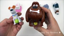 2016 McDONALDS THE SECRET LIFE OF PETS MOVIE HAPPY MEAL TOYS COMPLETE SET OF 8 KIDS MEAL
