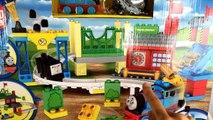 Thomas and Friends Mega Bloks Thomas at the Sodor Fair - 3 Layout Demo - Unboxing Review