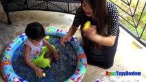 Bulles défi mignon dans piscine caoutchouc jouets Entrainer sifflet Surprise orbeez kiddie thomas