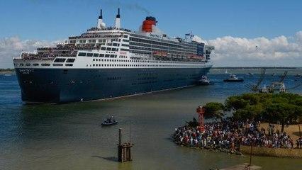 REPLAY : Retour du Queen Mary 2 à Saint-Nazaire