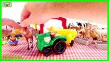 Una y una en un tiene una un en y animales vacas hace granja granjas caballos Ni