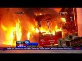 Bus Transjakarta Terbakar Diduga Akibat Korsleting Listrik - NET 24