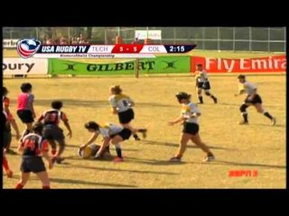 Texas Tech vs. Colorado - Women's Match 37 - 2012 USA Rugby College 7s National Championship