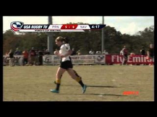 Princeton vs. Navy - Women's Match 36 - 2012 USA Rugby College 7s National Championship