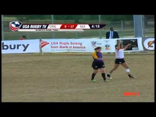 Oregon State vs. Northern Iowa - Women's Match 39 - 2012 USA Rugby College 7s National Championship