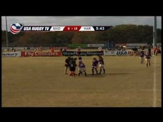 James Madison vs. Harvard  - Women's Match 30 - 2012 USA Rugby College 7s National Championship