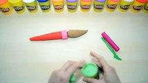Escroquerie avec Jai le Italien Italien jouer apprendre les couleurs posent, pose plastinés doh créations