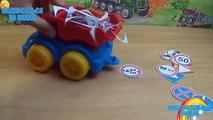 Machines dessin animé série monde des machines 31 panneaux routiers de dépanneuse camion