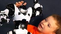 Pequeñito guau Niños para juguete robosapien 8081 divertidos juguetes robot para niños inteligentes canal de televisión