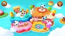 Et bébé événements des familles pour amusement amusement Jeu dans enfants jouer sportif avec Panda  