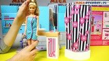 Salle de bains avec Glam Barbie Mattel Barbie Salle de bain de poupée www.megadyskont.pl