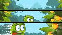 Enfants pour clin doeil Jeu carré vert chasse hilarante de Green pour les mangues Partie 2