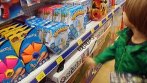 ToysRus Shopping before Christmas and Glowing in the Dark Play-Doh Toy Hunting so much FUN