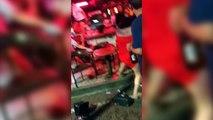 Bar Owner Ends Argument Between Two Ladyboys