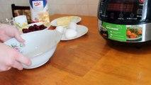 Dans le avec délicieux café et chocolat tarte cerise multivarka recette de gâteau aux cerises à tarte
