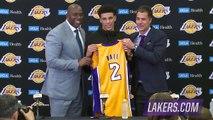 【NBA】Lonzo Ball Full Introductory Press Conference Lakers 2017 NBA Draft