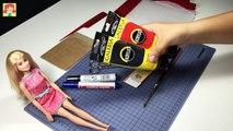 Chat personnalisé bricolage poupée enfants Coccinelle miraculeux jouets tutoriel H7 noir ken barbie ken