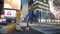 METAL SONIC VS SONIC THE HEDGEHOG AND MILES TAILS PROWER - EPIC BATTLE