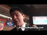 ray flores talks Boxing