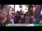 'No to Jihad!' vs. 'No to fascism!': EDl supporters face-off with antifa protesters in London