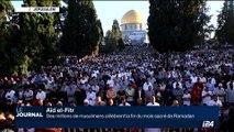 Aïd el-Fitr: des millions de musulmans célèbrent la fin du mois de Ramadan