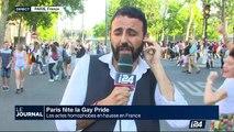 40e anniversaire de la Gay Pride : des milliers de personnes à la marche des fiertés à Paris