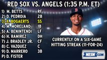 Red Sox Lineup: Doug Fister Makes His Debut In Boston