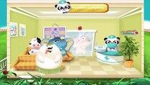 Et bébé soins docteur éducatif pour amusement amusement des jeux hôpital enfants tout petit panda |