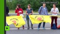 Belgique : une chaîne humaine de 90 km pour réclamer la fermeture de centrales nucléaires