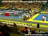 Finale junior homme des championnats de France TU 2006