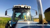 NH bale wagon single bale unload - video dailymotion