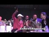 Sugar Ray Leonard and Tommy Hearns Together At Fights Sanata Monica CA EsNews Boxing