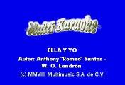 Aventura & Don Omar - Ella y yo (Karaoke)