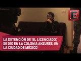 """PGR confirma la captura de Dámaso López, """"El Licenciado"""""""