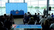 【NBA】Terrance Ferguson Full Introductory Press Conference OKC Thunder 2017 NBA Draft