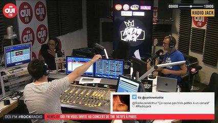 La radio OUI FM en direct vidéo /// La radio s'écoute aussi avec les yeux (3295)