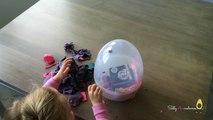 Des sacs des ballons anniversaire aveugle Oeuf géant petit mon fête jouer poney avec Doh surprise fashem
