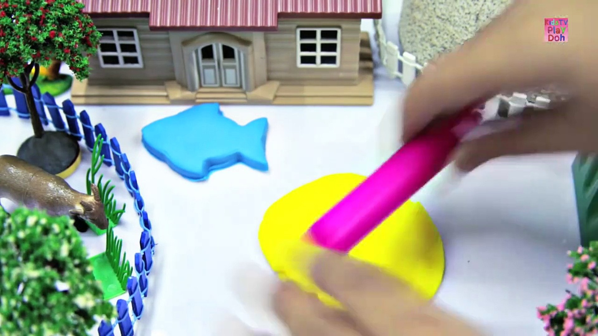 Learn Colors With Play Doh _ for Kids _ Kids Learning Videos  _ Play Doh Fish