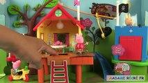 Blocs porc peppa cabane dans larbre jeu de contruction jouets treehouse