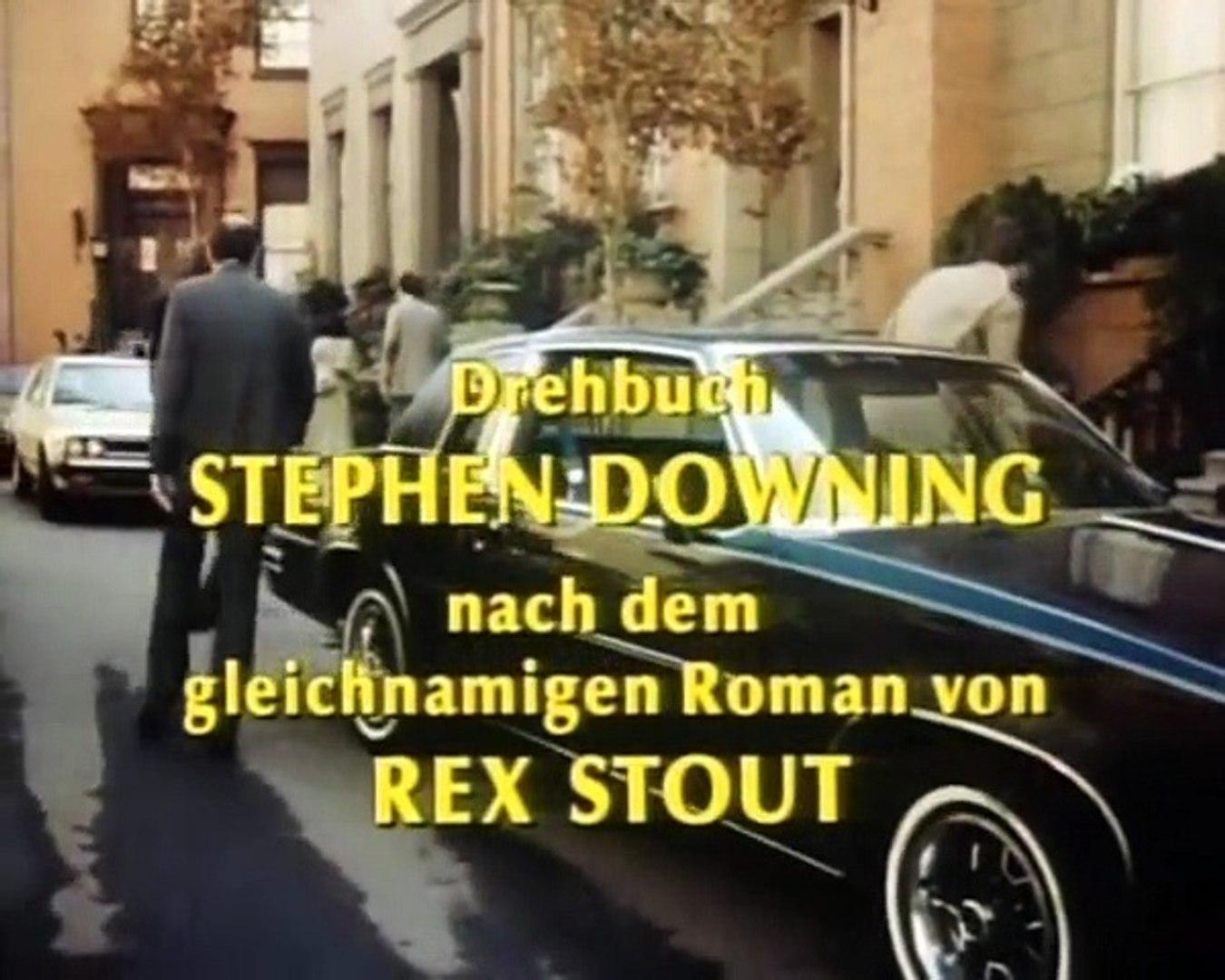 Nero Wolfe Staffel 1 Folge 8 HD Deutsch