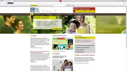 Comment demander le RSA sur www.msa.fr