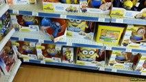 TOY HUNT!! Toys R Us Target Walmart MINIONS & SHOPKINS!