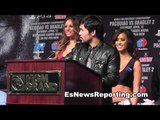 Manny Pacquiao vs Tim Bradley what pacquiao has to say esnews boxing