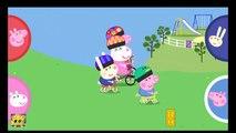 Agrafe crème journée Jeu de la glace saut longue faire porc en cours dexécution des sports vidéo peppa peppa свинья 粉红猪小妹