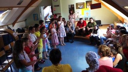 Paroles des élèves primo arrivants de l'école Paul Langevin aux Lilas 15 juin 2017