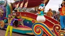 10 anniversaire des feux dartifice dans Nouveau étoiles le le le le la Disney projection hong kong disneyland